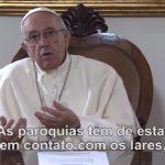 Vídeo de intenções de oração para setembro: Papa pede pelas paróquias