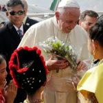 Pela primeira vez Papa Francisco visita Miamar, país de maioria budista