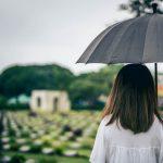 """""""Existe luto que enche de paz e luto que vira drama sem fim"""""""