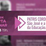"""Live desta quarta-feira abordará o tema """"São José e a Mística da Educação"""""""